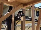 柱の耐震金物の取付です。|郡山市 新築住宅 大原工務店のブログ
