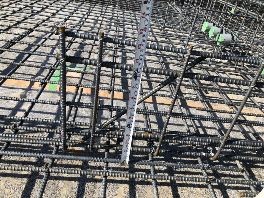 鉄筋の太さや配筋状況 郡山市 新築住宅 大原工務店のブログ