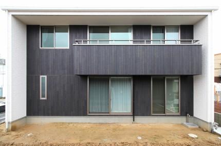 シンプルな箱型の家 郡山市小原田S様邸注文住宅