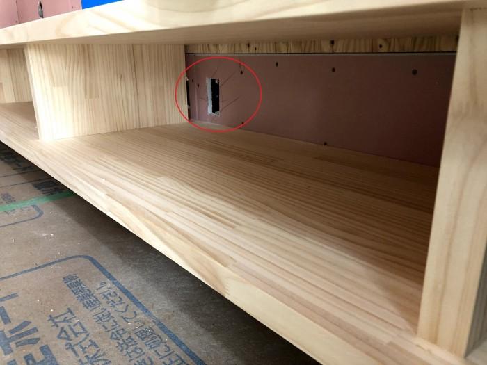 ボードの下に空間を設けています。須賀川市森宿|郡山市 新築住宅 大原工務店のブログ