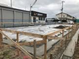 防湿シートの施工です。|郡山市 新築住宅 大原工務店のブログ