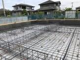 基礎配筋の様子です。須賀川市北横田|郡山市 新築住宅 大原工務店のブログ