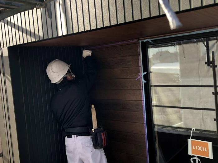 シールを貼っていきます。須賀川市森宿| 郡山市 新築住宅 大原工務店のブログ