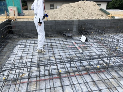 配筋検査の様子です 須賀川市 | 郡山市 新築住宅 大原工務店のブログ