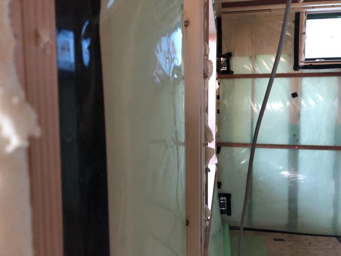 防湿気密層です。|郡山市 新築住宅 大原工務店のブログ