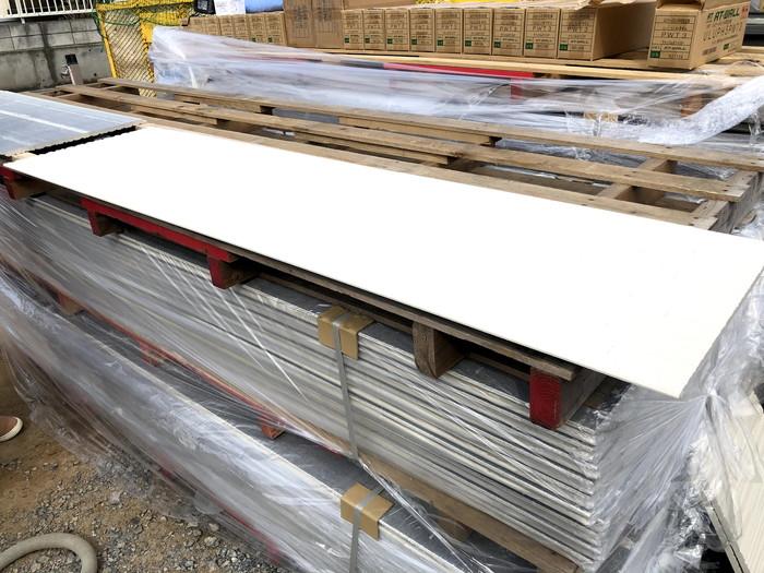 大量の外壁材が現場に搬入されました。郡山市町東| 郡山市 新築住宅 大原工務店のブログ