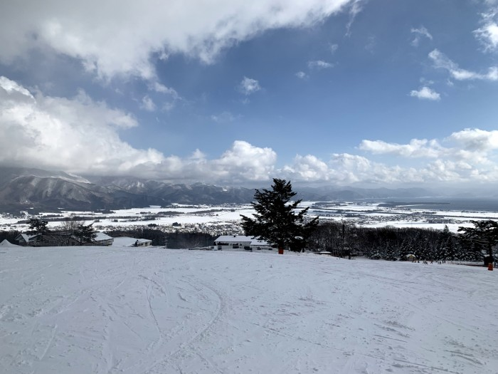 猪苗代スキー場の上からの写真です。| 郡山市 新築住宅 大原工務店のブログ