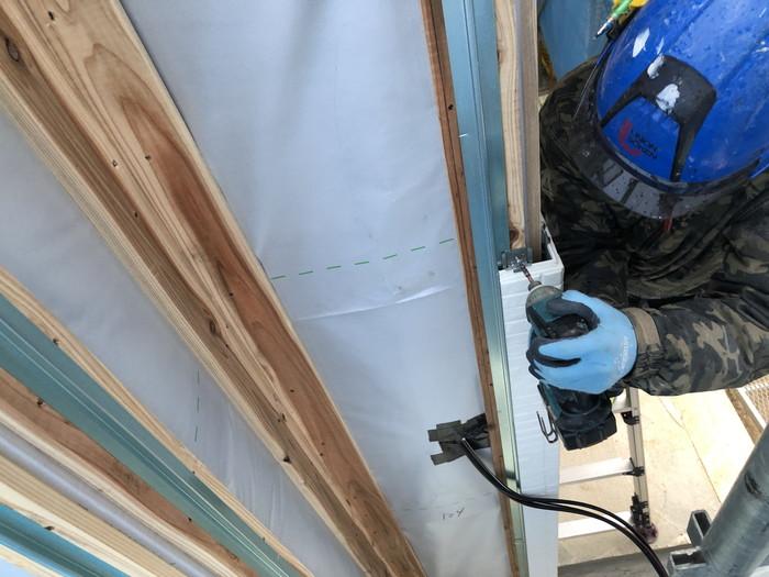 角コーナーの納まりです。 郡山市 新築住宅 大原工務店のブログ