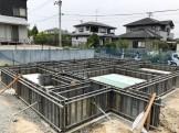 基礎工事の枠組みです。須賀川市北横田|郡山市 新築住宅 大原工務店のブログ