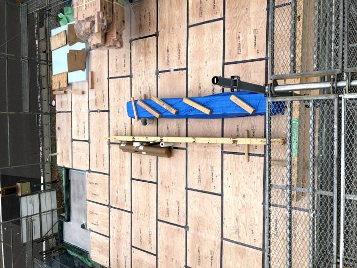 床板を敷いたら完成です。郡山市安積町|郡山市 新築住宅 大原工務店のブログ