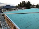 Y様邸ルーフィング施工されました。郡山市熱海町| 郡山市 新築住宅 大原工務店のブログ