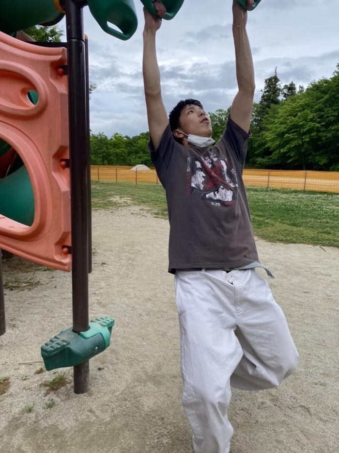 公園で遊びました 郡山市 新築住宅 大原工務店のブログ