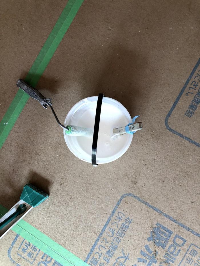 塗装の材料です。|郡山市 新築住宅 大原工務店のブログ