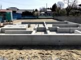 べた基礎の写真です。郡山市片平町|郡山市 新築住宅 大原工務店のブログ
