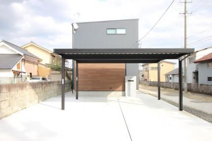 カッコいい新築住宅です。|郡山市 新築住宅 大原工務店のブログ