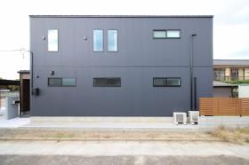 大原工務店で建てたオシャレなキューブ型注文住宅です。郡山市小原田  郡山市 新築住宅 大原工務店のブログ