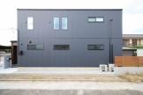大原工務店で建てたオシャレなキューブ型注文住宅です。郡山市小原田| 郡山市 新築住宅 大原工務店のブログ