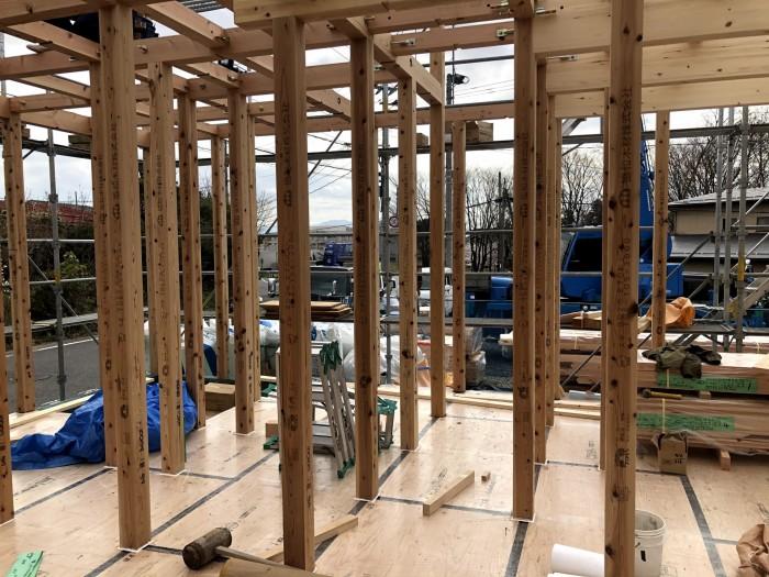 上棟しました。郡山市安積町|郡山市 新築住宅 大原工務店のブログ