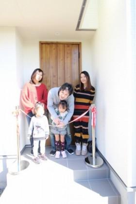 テープカットの瞬間です。福島県会津若松市|郡山市 新築住宅 大原工務店のブログ