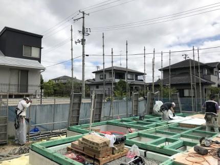 新築注文住宅S様邸上棟しました。須賀川市北横田|郡山市 新築住宅 大原工務店のブログ
