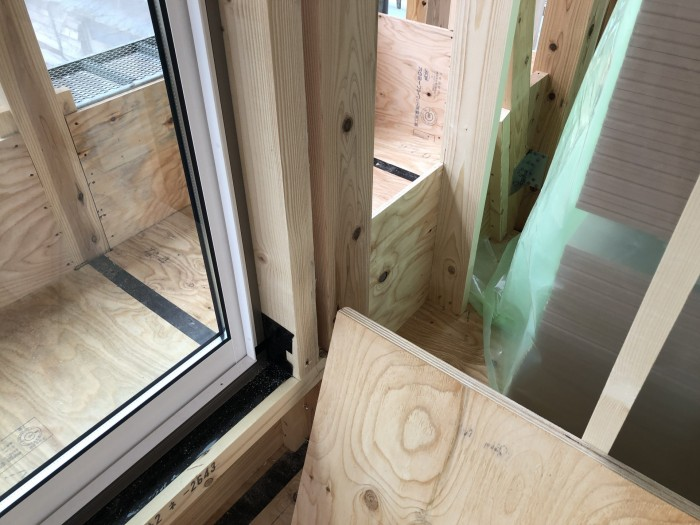 ベランダの下地を施工しています。三春町W様邸| 郡山市 新築住宅 大原工務店のブログ