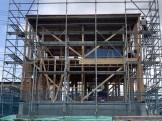 上棟の様子です。郡山市安積町|郡山市 新築住宅 大原工務店のブログ