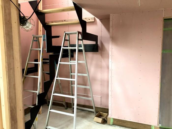 アイアンの階段です。|郡山市 新築住宅 大原工務店のブログ