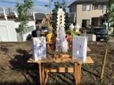 地鎮祭のお供え物です 須賀川市森宿 |郡山市 新築住宅 大原工務店のブログ