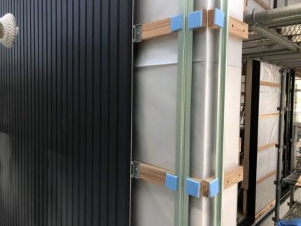 旭トステム社のアーバンストライプ施工します。郡山市成山町| 郡山市 新築住宅 大原工務店のブログ