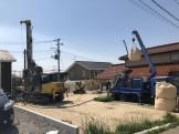 地盤改良を行いました 郡山市富久山町 |郡山市 新築住宅 大原工務店のブログ