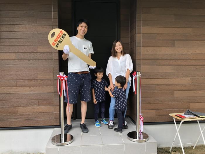 鍵引渡です。|郡山市 新築住宅 大原工務店のブログ