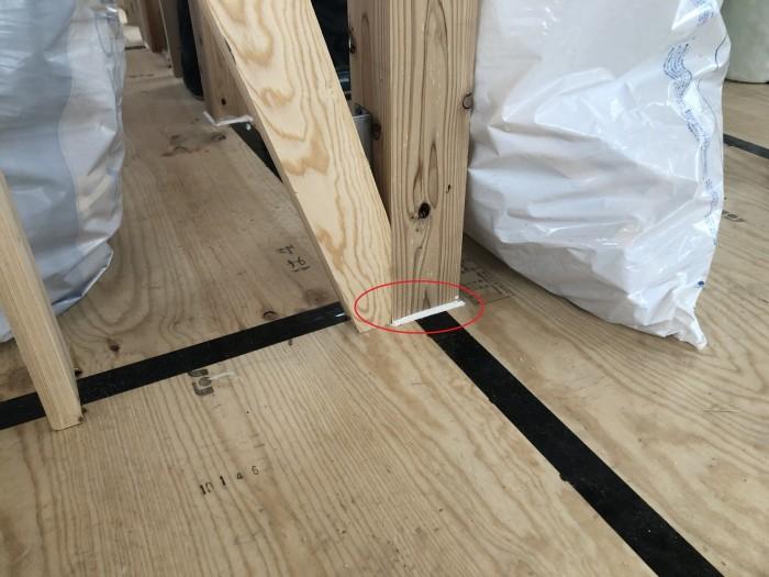 シーリング材を充填していきます。二本松市| 郡山市 新築住宅 大原工務店のブログ