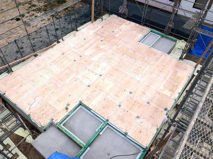 土台入れの完了です。|郡山市 新築住宅 大原工務店のブログ