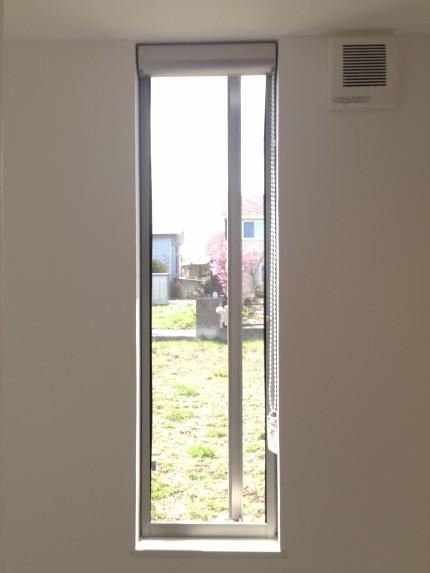 郡山市田村町モデルハウスYKKAPたてすべり出し窓