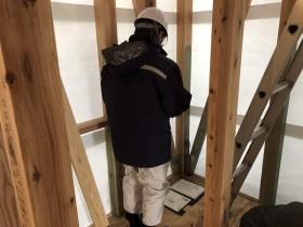 郡山市富久山町で上棟検査|郡山市 新築住宅 大原工務店のブログ