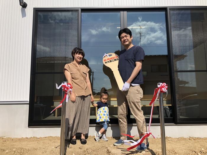 鍵のお引き渡しです。|郡山市 新築住宅 大原工務店のブログ