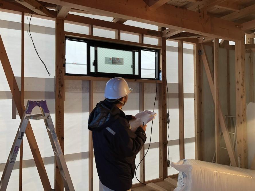 耐震等級3を実行するためにも検査|郡山市 新築住宅 大原工務店のブログ