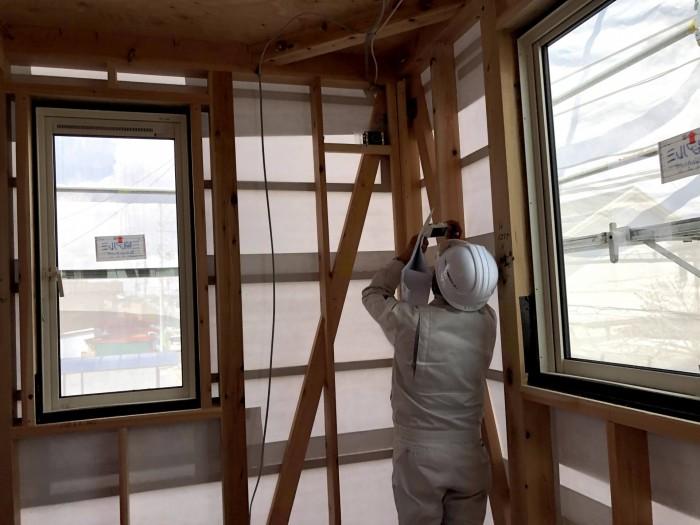 写真を残しながら検査します。郡山市安積町|郡山市 新築住宅 大原工務店のブログ