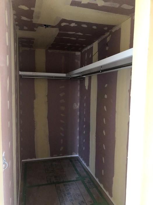 大原工務店で新築注文住宅建築中K様邸、パテを塗ったところです。郡山市安積町| 郡山市 新築住宅 大原工務店のブログ