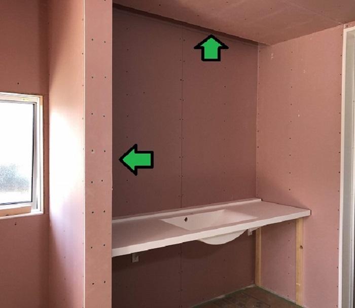造作の洗面化粧台です 郡山市富田町 |郡山市 新築住宅 大原工務店のブログ