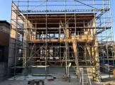 先日上棟した写真です。郡山市片平町O様邸| 郡山市 新築住宅 大原工務店のブログ