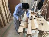 造作手すりの加工です。|郡山市 新築住宅 大原工務店のブログ