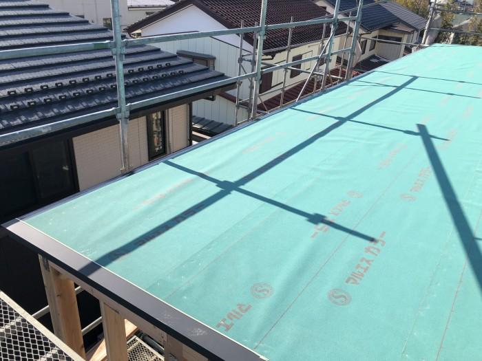屋根の施工チェックをしていきます。郡山市富田町| 郡山市 新築住宅 大原工務店のブログ