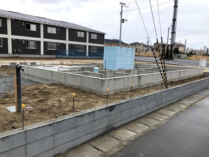 新築住宅のべた基礎の完成です。|郡山市 新築住宅 大原工務店のブログ