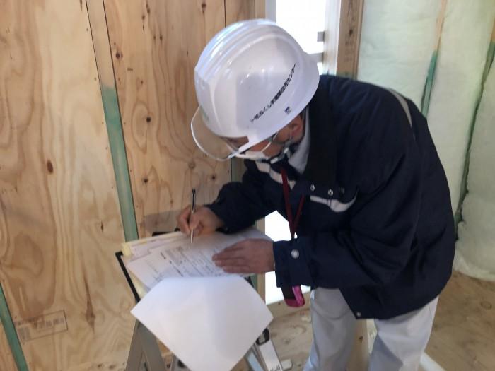 質疑応答での検査になります。郡山市富田町| 郡山市 新築住宅 大原工務店のブログ