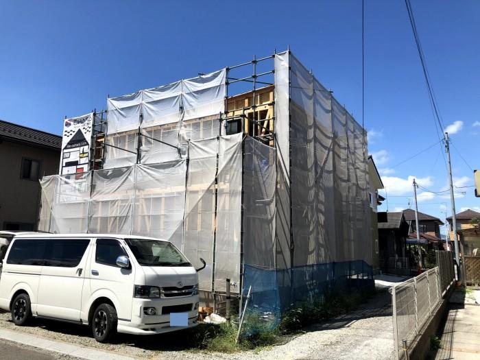 上棟おめでとうございます!|郡山市 新築住宅 大原工務店のブログ