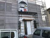 足場シートがいい感じです。郡山市富田町| 郡山市 新築住宅 大原工務店のブログ