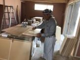 塗装工事を行っています 郡山市富田町 |郡山市 新築住宅 大原工務店のブログ