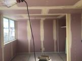 下地処理が終わった様子です。郡山市熱海町| 郡山市 新築住宅 大原工務店のブログ