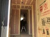 大原工務店で新築注文住宅建築中のW様邸、仕上げ工事が始まりました。郡山市富田町| 郡山市 新築住宅 大原工務店のブログ